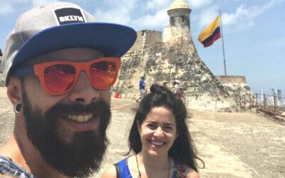 Nosso roteiro em Cartagena #diariodebordo