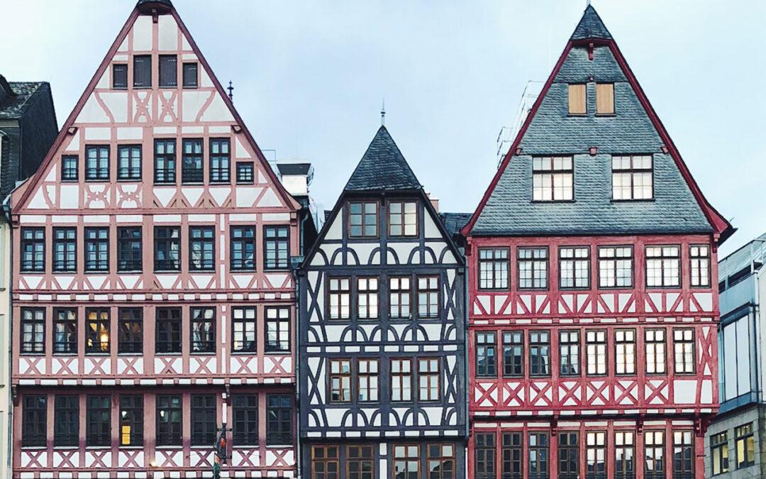 Nosso rolê de 2 dias em Frankfurt – Alemanha #diáriodebordo
